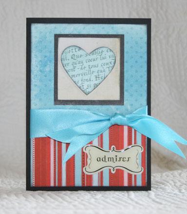 Admirer card
